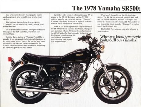 SR500ES Yamaha Sr Wiring Diagram on